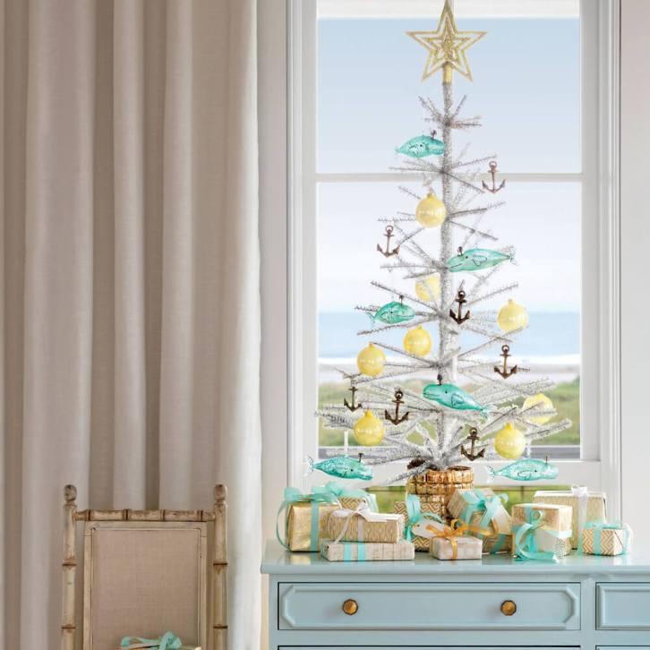Un sapin de Noël côtier