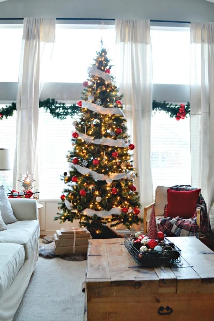 Un sapin de Noël classique