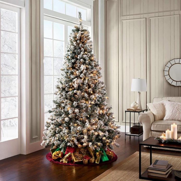 Idées de décoration de sapin de Noëlles lumières