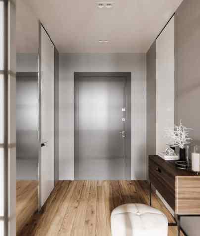 Visite d'un appartement au style glamour moderne sophistiqué 12