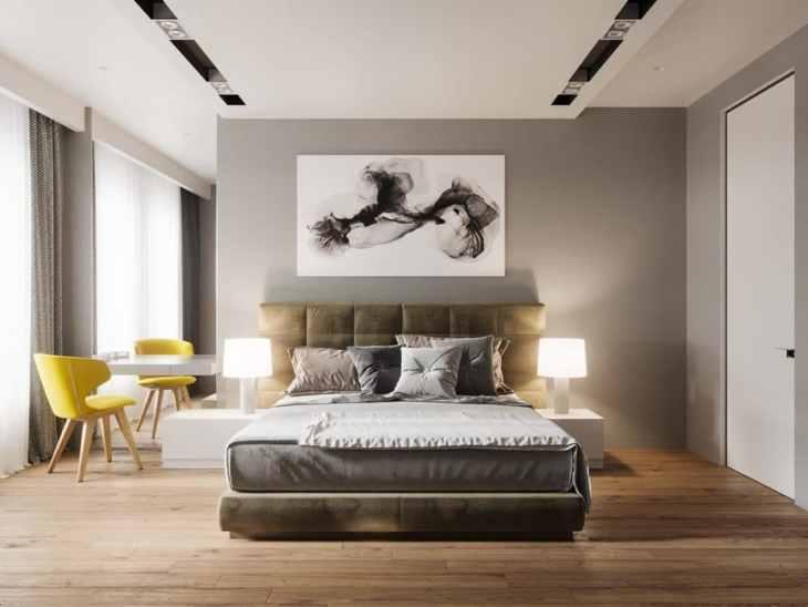 Visite d'un appartement au style glamour moderne sophistiqué 14