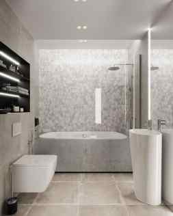 Visite d'un appartement au style glamour moderne sophistiqué 28