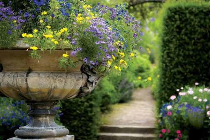 Décorer un jardin avec des antiquités pleines d'originalité 1