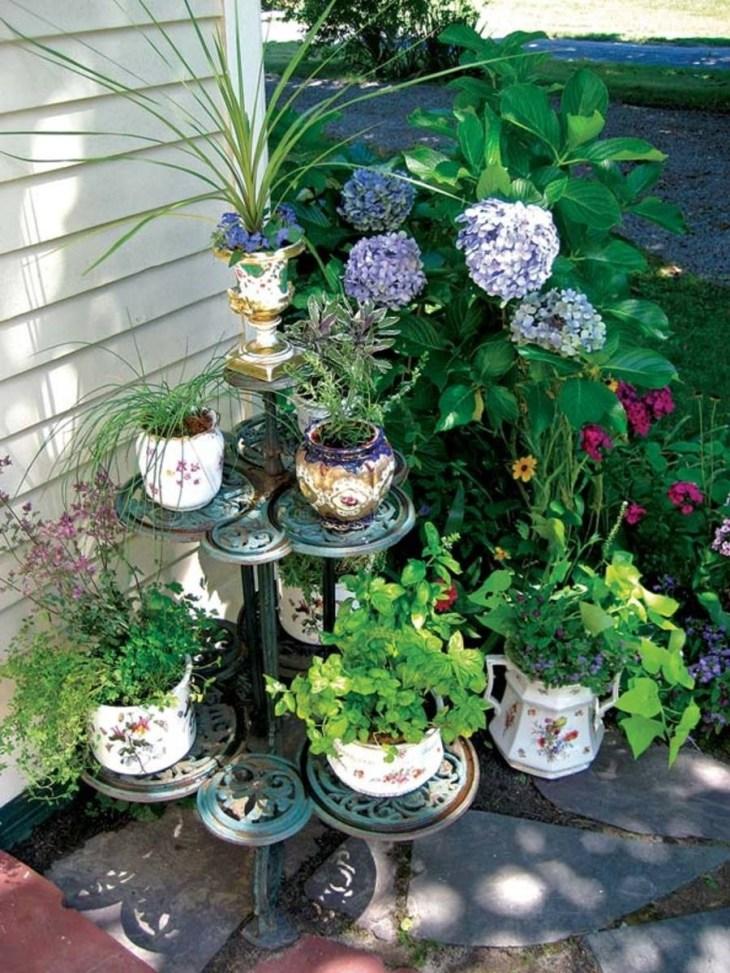 Décorer un jardin avec des antiquités pleines d'originalité 2