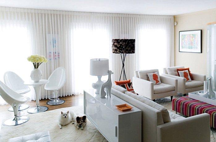 Décorer votre maison avec des meubles laquéssophistiqué salon
