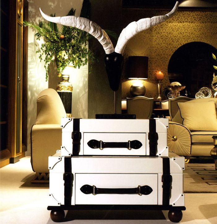 Tables basses valise et coffre25 idées déco qui associent le vintage à la vivacité 11