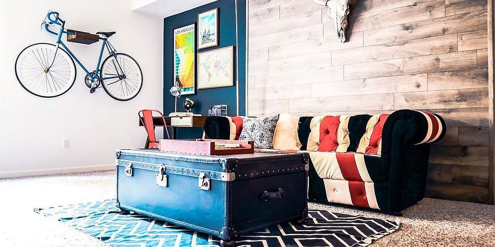 Tables basses valise et coffre25 idées déco qui associent le vintage à la vivacité