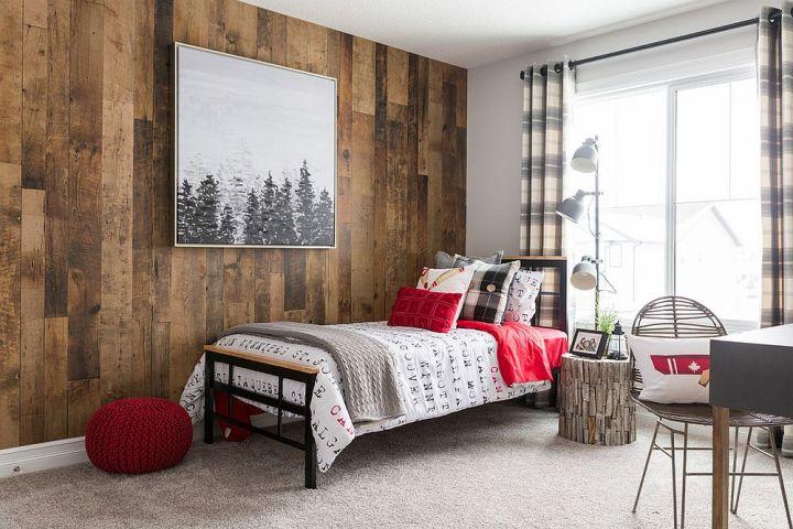 Des chambres rustiques avec une touche de couleur et des motifs 5