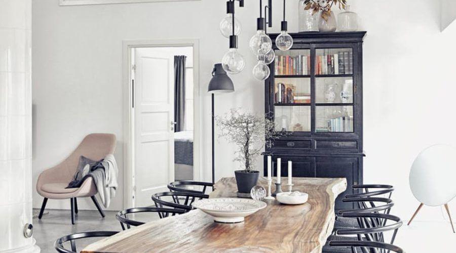 Des salles à manger minimalistes à la décoration revigorante 5