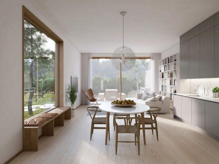 Des salles à manger minimalistes à la décoration revigorante 6