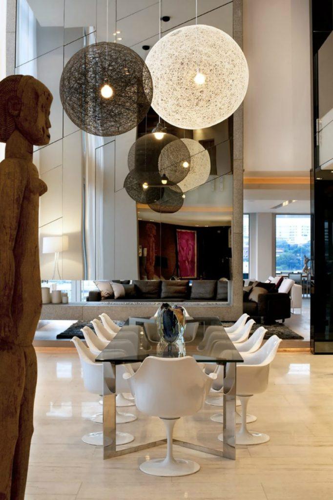 Des salles à manger minimalistes à la décoration revigorante 7