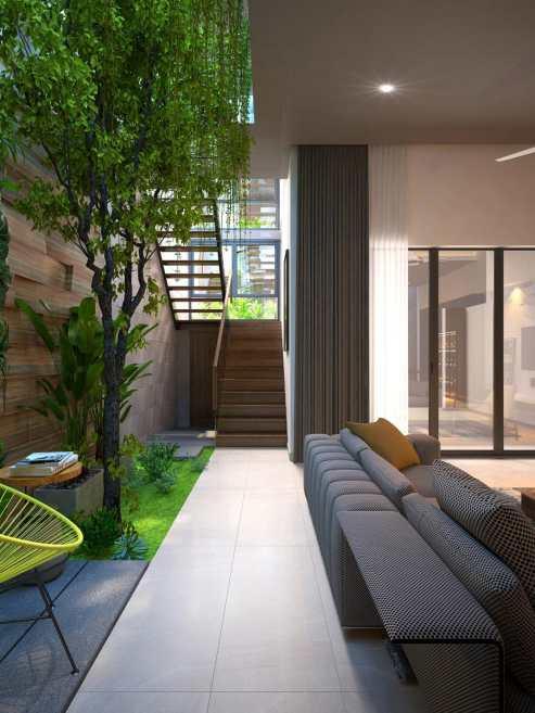 Un jardin d'intérieur dans sa maison 4