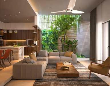 Un jardin d'intérieur dans sa maison