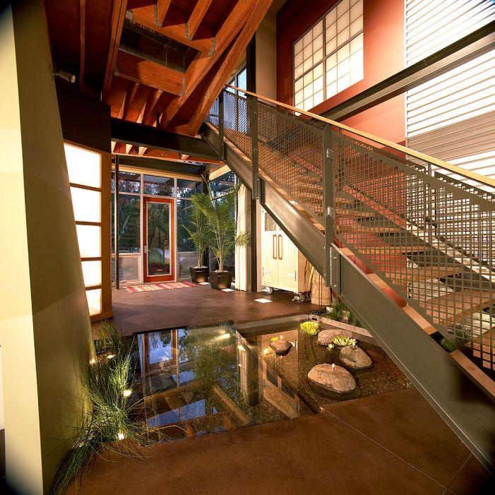 Comment utiliser l'espace sous l'escalier de votre maison 2