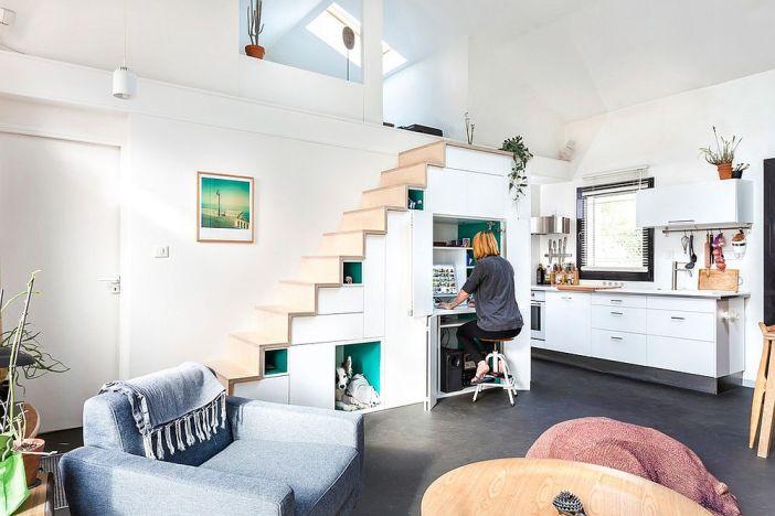 Comment utiliser l'espace sous l'escalier de votre maison
