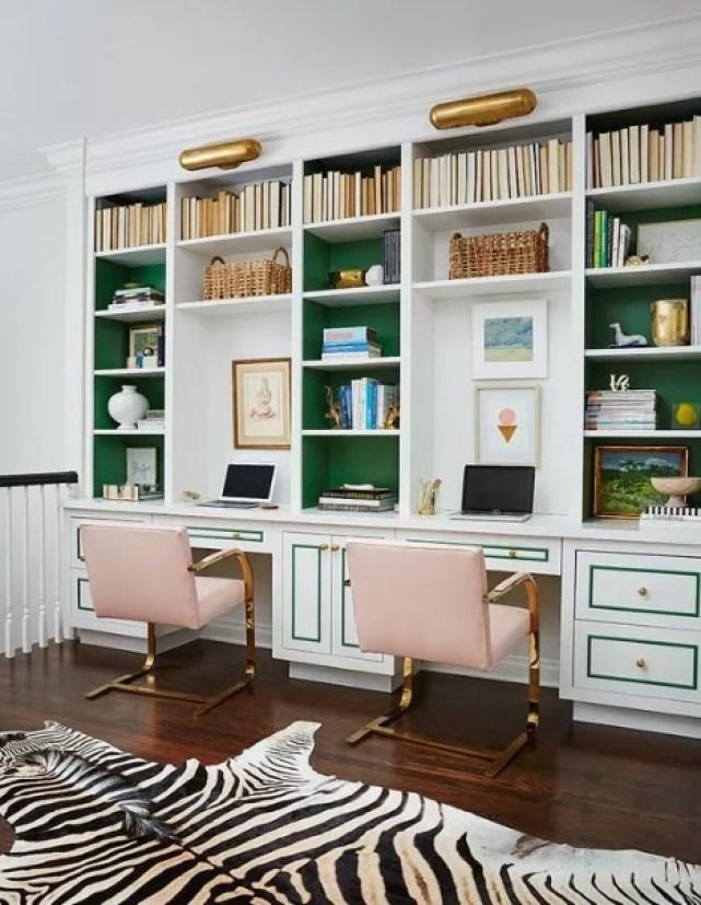 La symétrie pour aménager son bureau à la maison