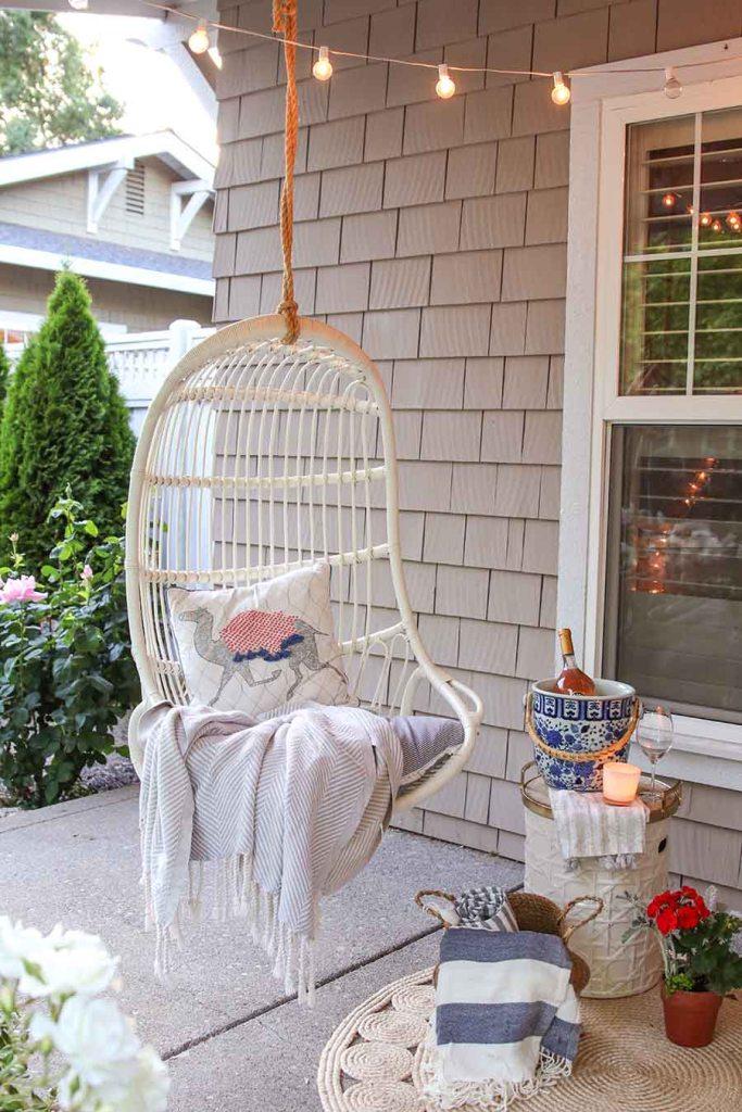Ajoutez une balançoire à votre décoration cottage chic