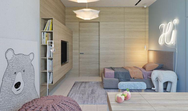 Décorer une chambre d'enfant de façon minimaliste
