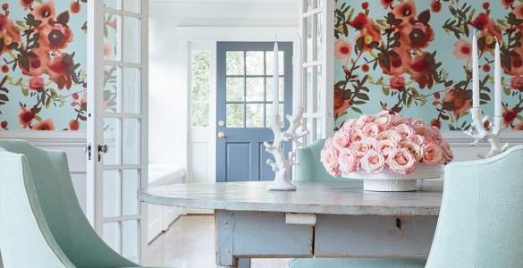 Des imprimés floraux pour votre décoration cottage chic