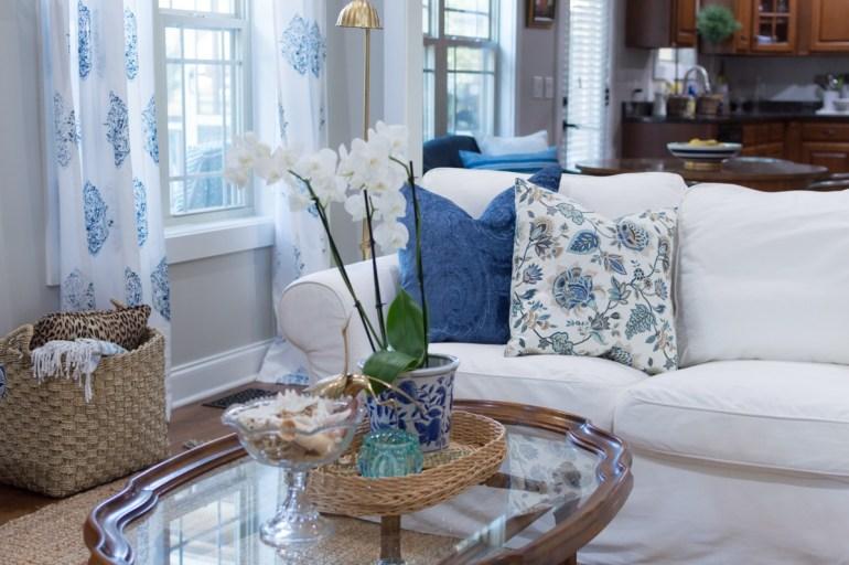 Des teintes bleues dans votre décoration cottage chic