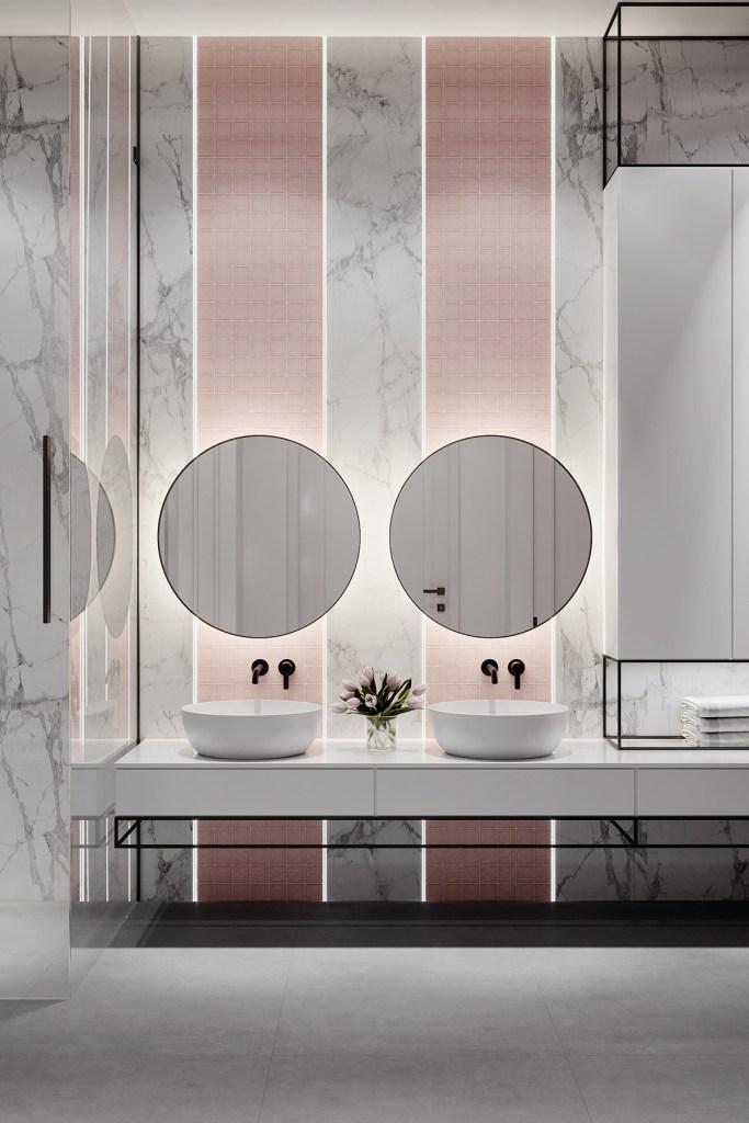 décoration d'intérieur néoclassique à base de gris 10