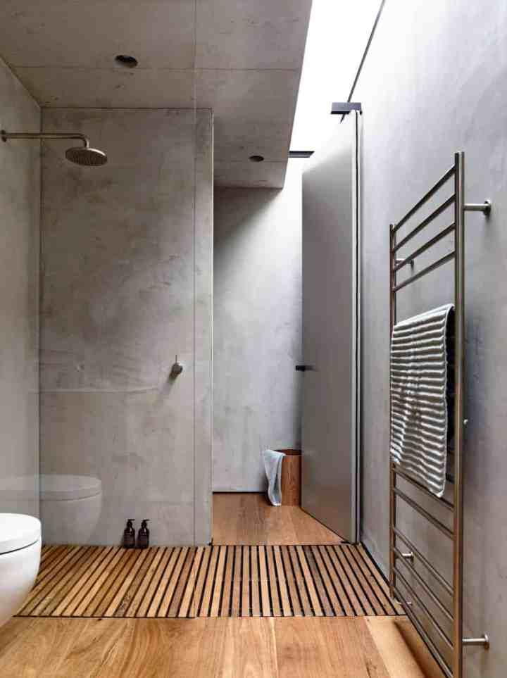 Ajouter du béton dans la salle de bain