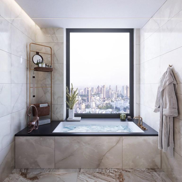 une salle de bain très luxueuse 1