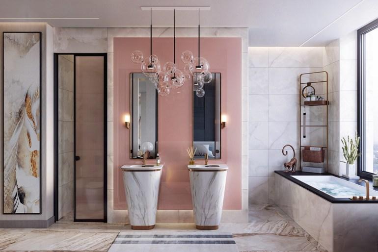une salle de bain très luxueuse