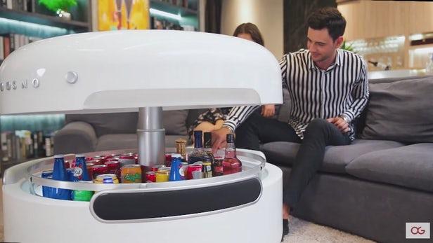 Coosno crée une table basse ultra connectée