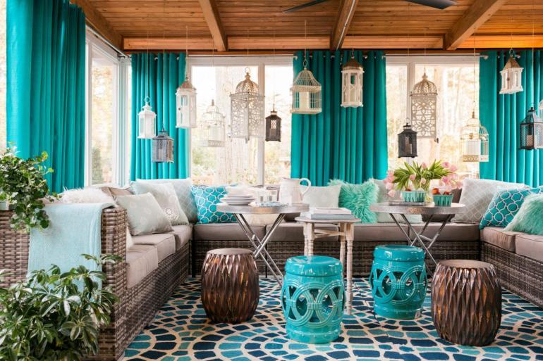 Une terrasse confortable