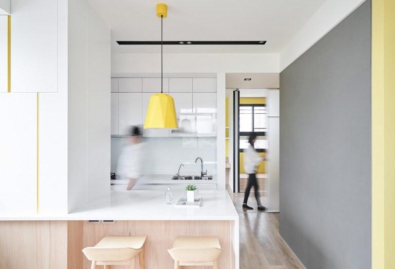 Solutions d'économie d'espace pour des petits intérieurs aérés 5
