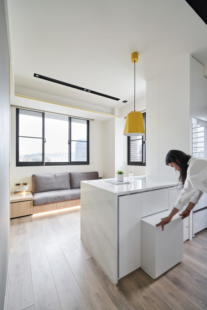 Solutions d'économie d'espace pour des petits intérieurs aérés 6