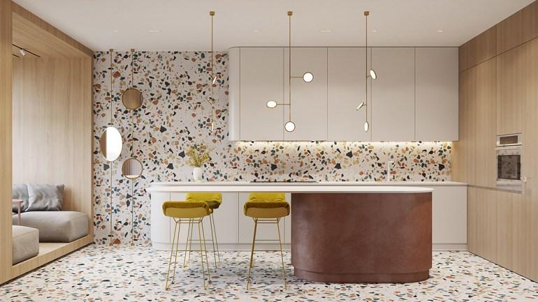 Un intérieur rétro moderne rempli d'idées de conception originales 5