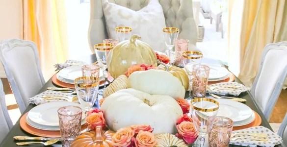 Créer des centres de table pour votre salle à manger en automne