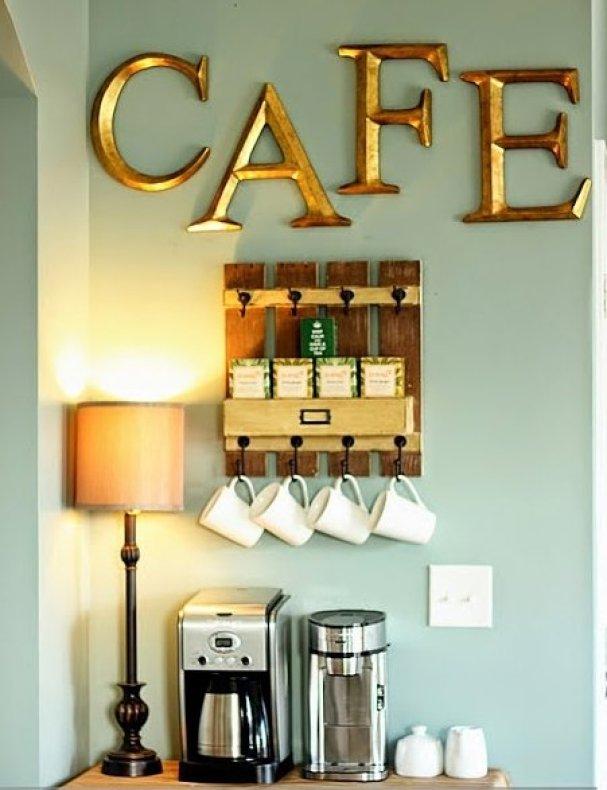coffee station idea