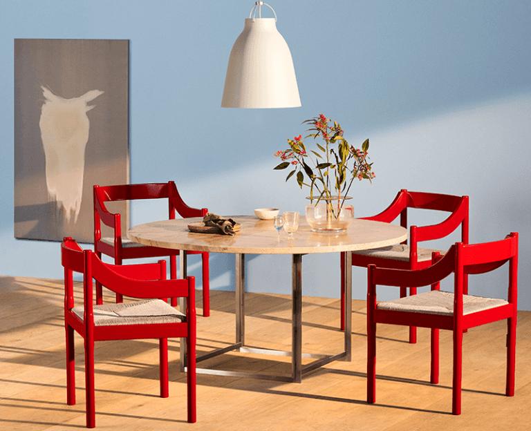 La chaise Carimate icone du design