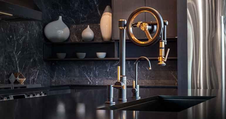 Tendances de la cuisine pour 2021des robinets modernes
