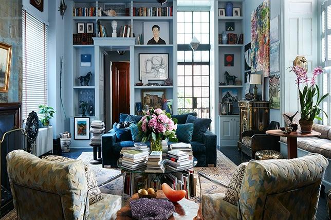 Style bohème et couleurs vives