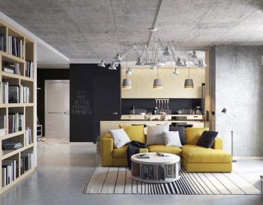 4 façons d'utiliser le béton décoratif dans votre maison