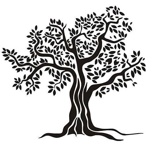 Tree Of Life Clip Art Black And White