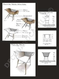 Création d'une chaise