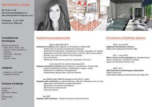 CV Camille DECOUARD