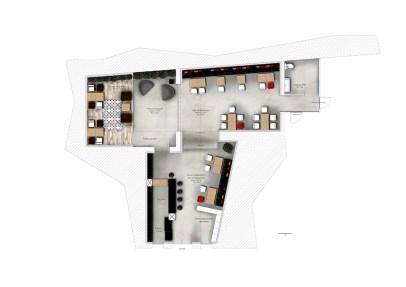 Plan de distribution du restaurant