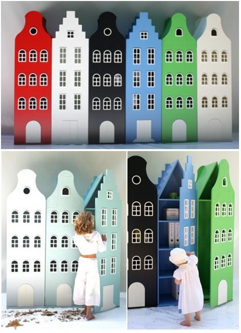 Armarios infantiles ideas originales para el dormitorio