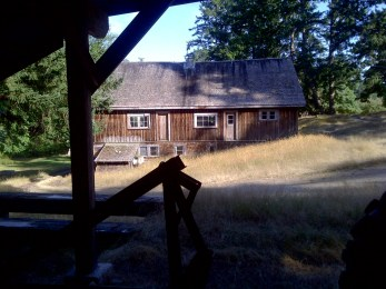 The old Barn on the DeCourcy Island Farm