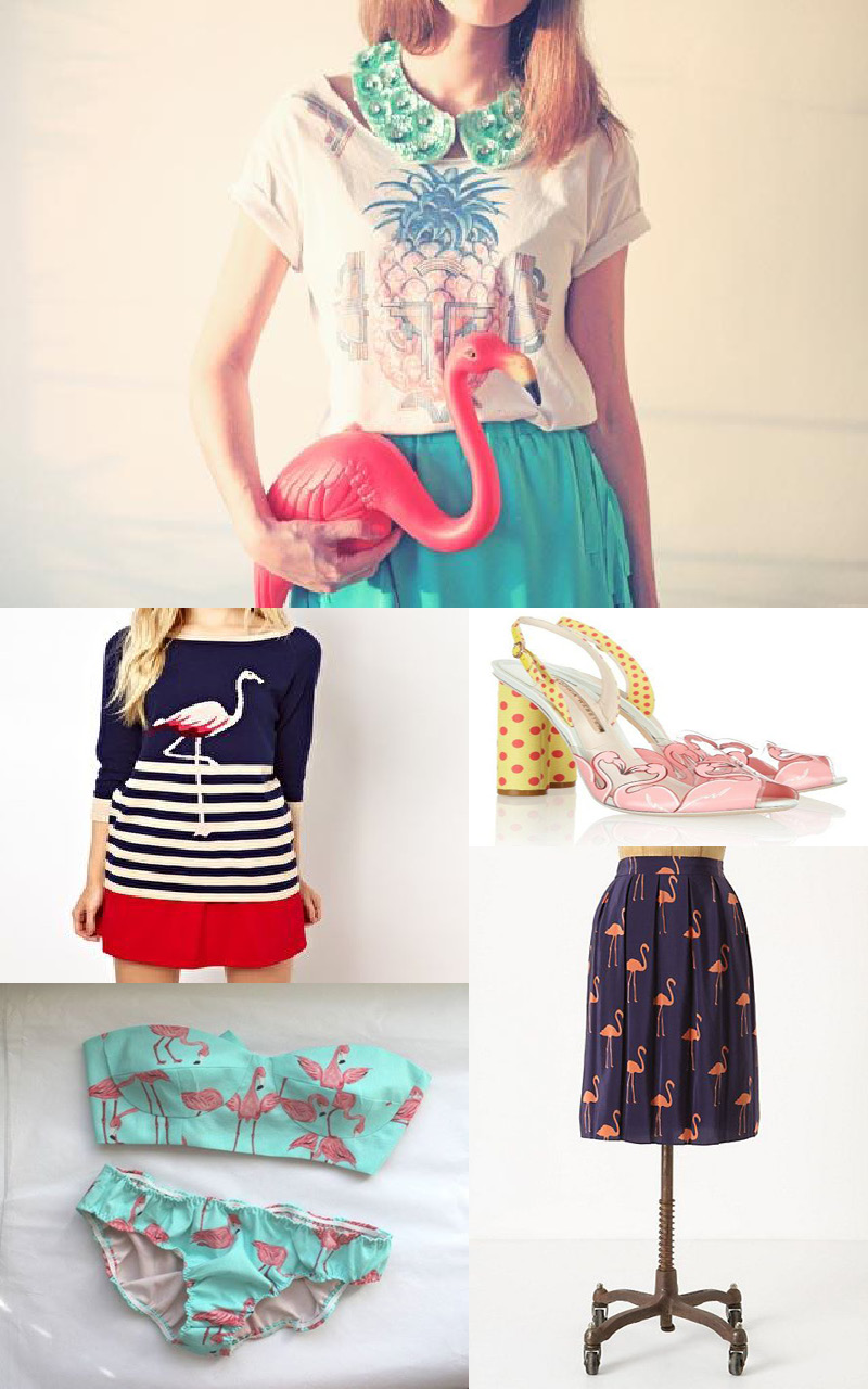 tendance mode flamingo feelings2