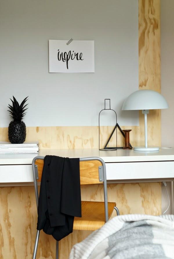 Déco-récup // 4 idées bricoleuses pour transformer une planche en bois en pièce design