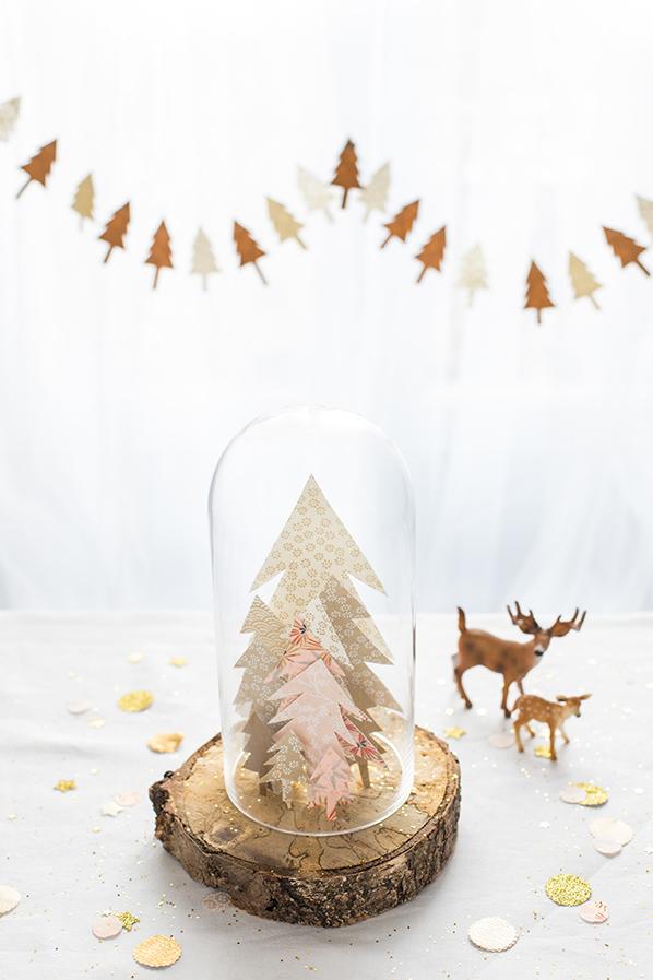 Déco de Noël // 3 idées pour décorer la table de fête sur le thème Forêt enchantée !