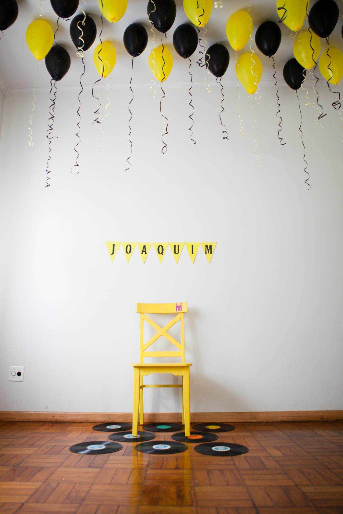 La première fête d'anniversaire de Joaquim: déco et joie !