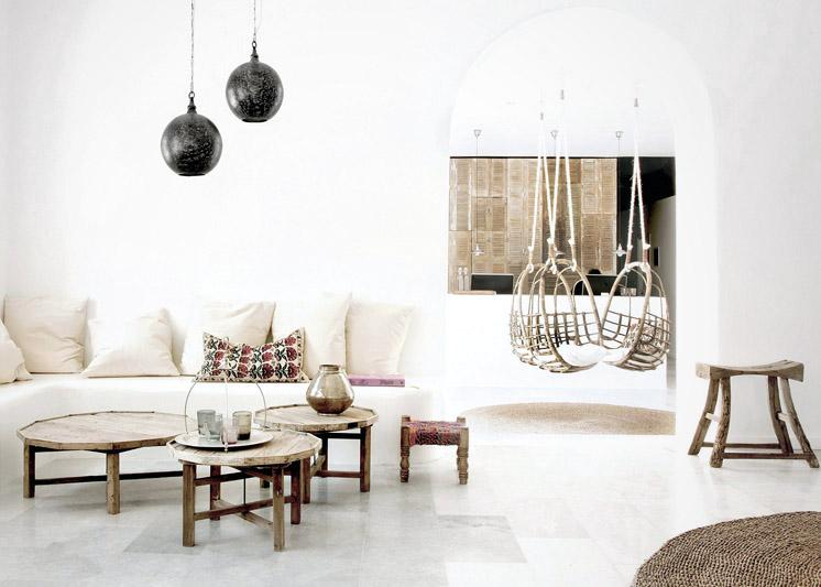 San Giorgio // Un hotel authentique aux accents ethniques à Mikonos